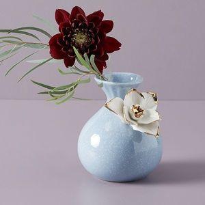 Anthropologie Daisy Ceramic Bloom Vase NWOT